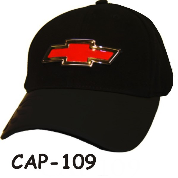 Chevrolet Black Hat With Bowtie