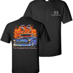Chevy Flame Shirts tdc-156