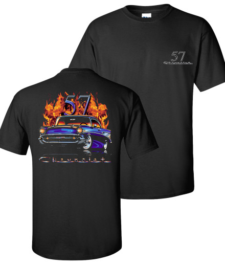 Chevy Flame Shirts tdc-177