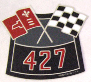 Air Cleaner 427 Cross Flag