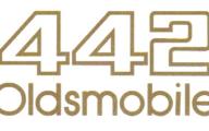 1985 - 87 Oldsmobile 442 Gold Decals