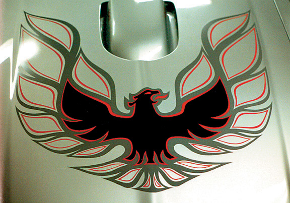 ,1978 Pontiac Trans Am hood bird,