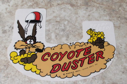 Coyote Duster Decal