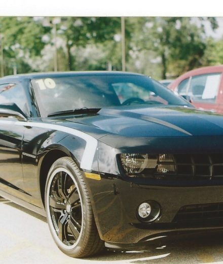 Chevrolet Retro SS hockey stick style stripe 2010 - 2015 Camaro