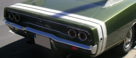 1968 DODGE CHARGER BUMBLE BEE STRIPE KIT