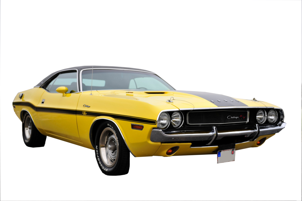 1970 Challenger Mid Body Stripe Kit With R T Callout
