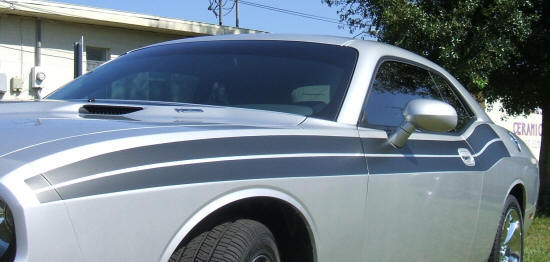 2008-2010 Challenger R/T style side stripe kit