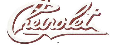 Chevrolet Logo Decals Stencils Banners Stencils Stripes