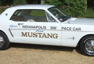 1964 Ford Mustang Pace Car