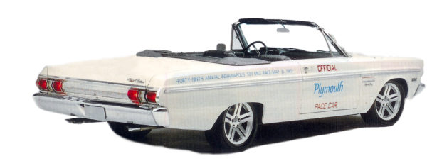 1965 Plymouth Fury Pace Car