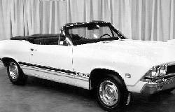 1968 Chevelle Beaumont Stripe Kit