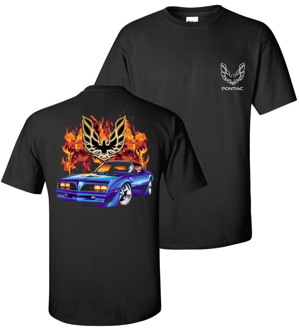 Chevy & Pontiac Flame Shirts