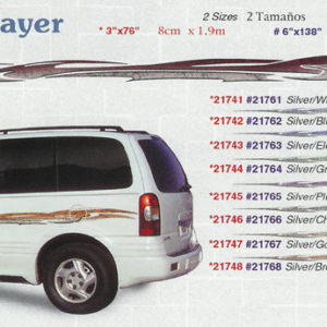 "Dragonslayer 3"" x 76"" 6"" x 138"" Custom Vinyl Graphics"