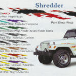 "Shredder 13"" x 126"" Custom Vinyl Graphics"