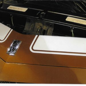 1970-73 RS Z 28 front header stripes