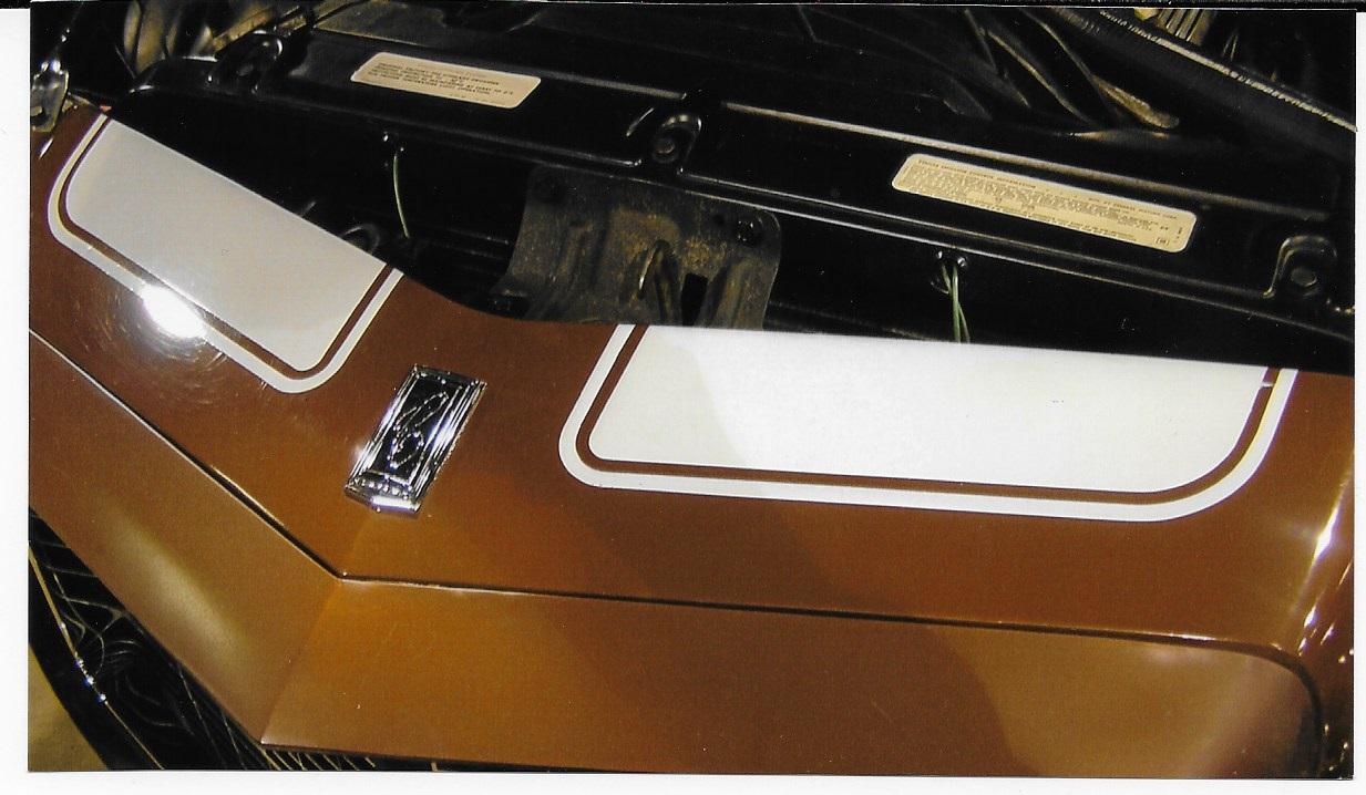 1970-73 Camaro Rally Sport Header Panel