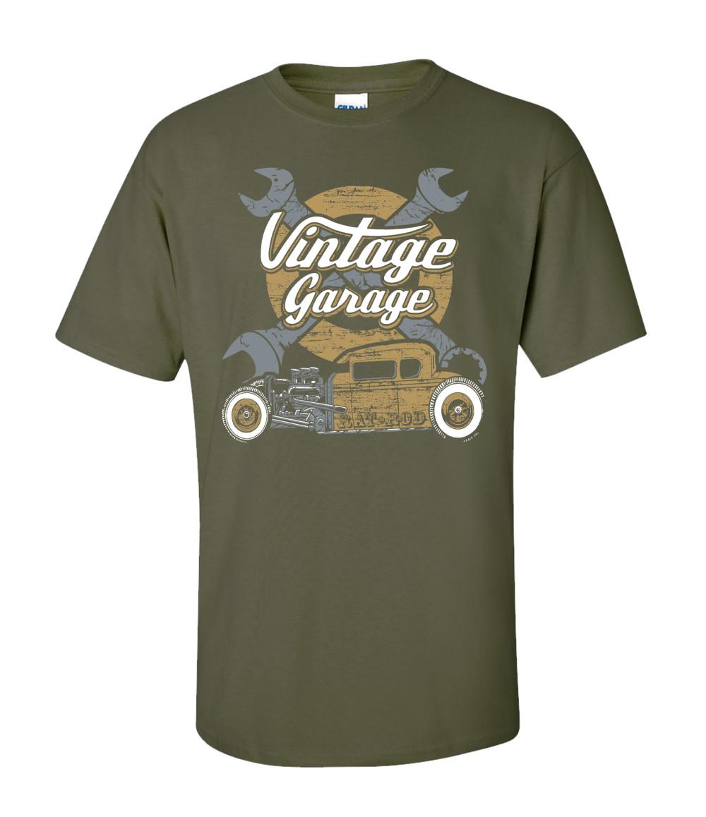 Vintage Automotive T Shirts