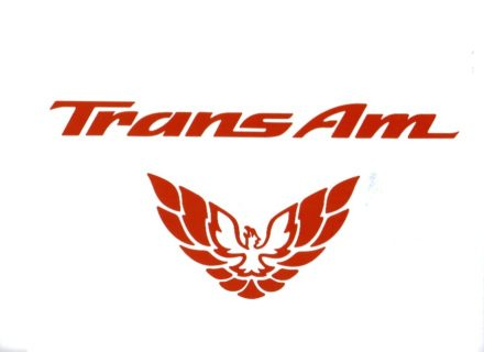 1998 - 2002 Trans Am Rear Panel Decal Set