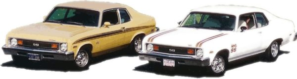1973 Nova SS Body Side Stripes Kit