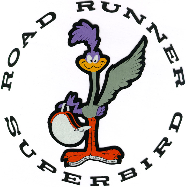 Road Runner Decals