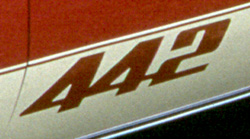 1976-77 Oldsmobile 442 Paint Stencil Kit