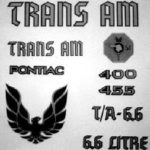 1976-78 Trans Am - Special Edition Decals