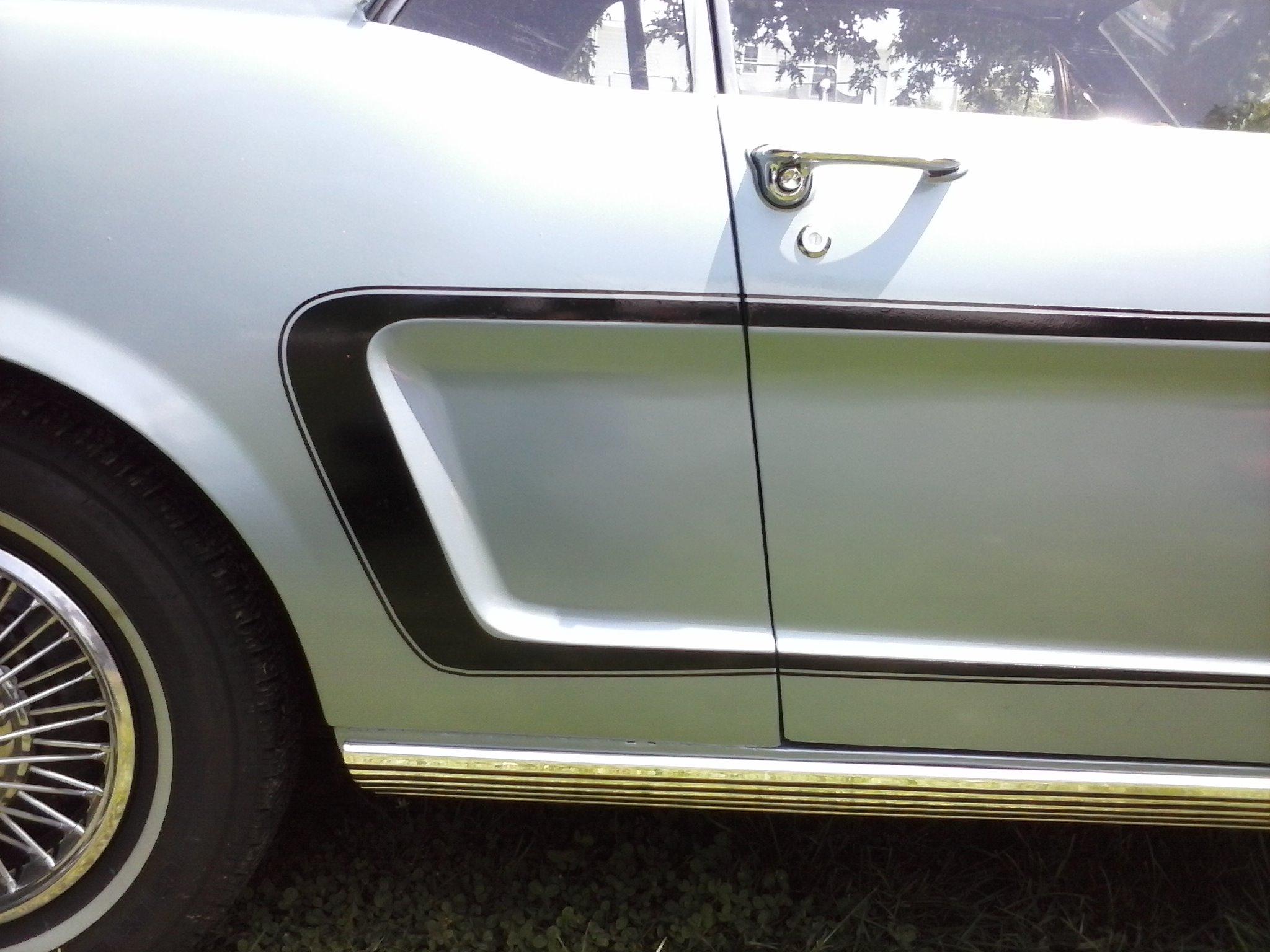 Ford Mustang 1964-66 Custom C Stripe Kit