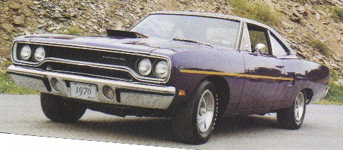 1970 Road Runner Dustrail stripe