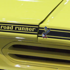 1970 Road Runner Deck Lid Stripe