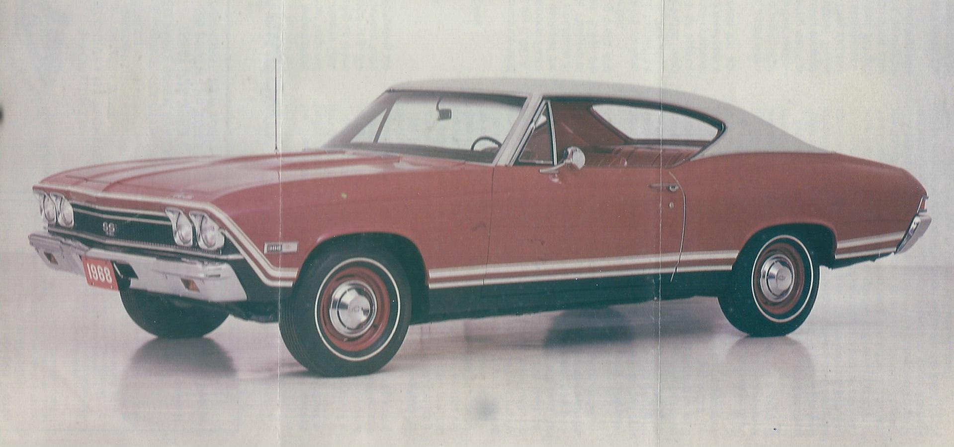 1968 Chevrolet El Camino Ss Stripe Kit