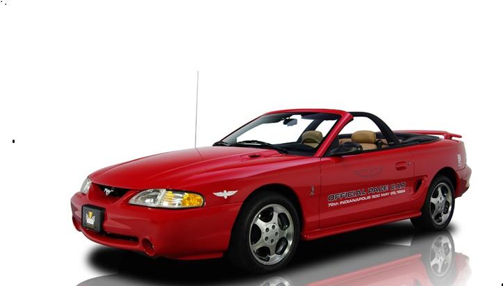 1994 Mustang Cobra Indianapolis 500 Pace Car Decal