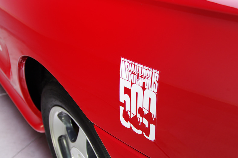 1994 mustang cobra indianapolis 500 pace car decal kit