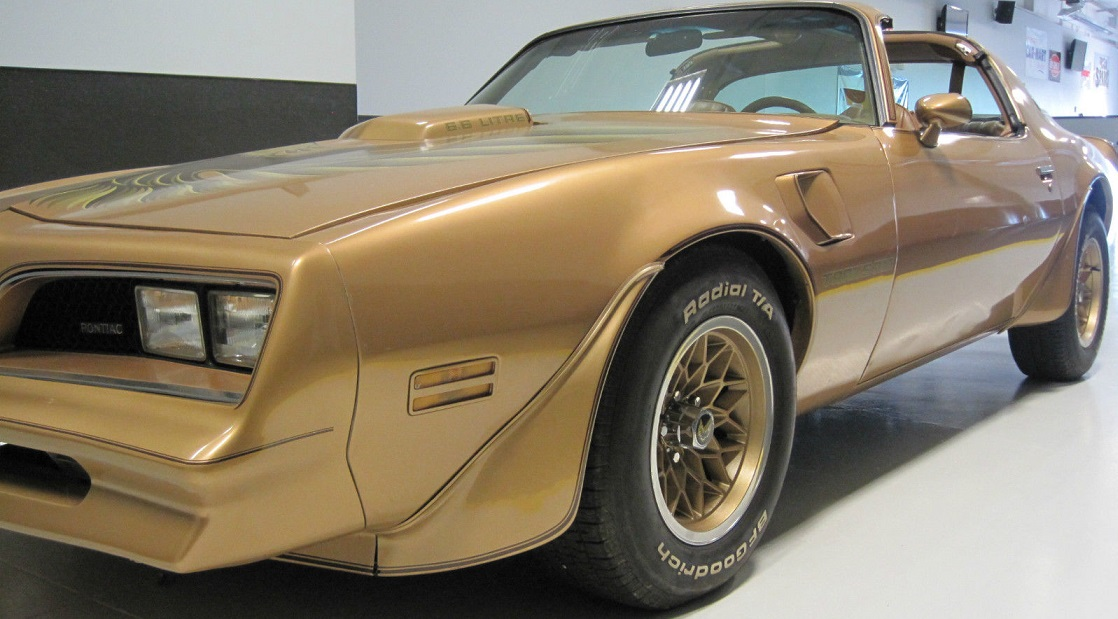 1978 Trans Am Special Edition (Y88 Gold) Complete Stripe Kit