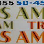 1973-78 Trans Am individual decals.