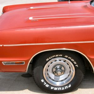 1970 thru 1971 Plymouth Fury GT Stripe Kit