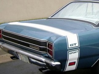 1969 Dart GTS Stripe Kit