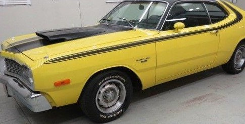 1973-74 Dart Side & Over The Roof Stripe Kit