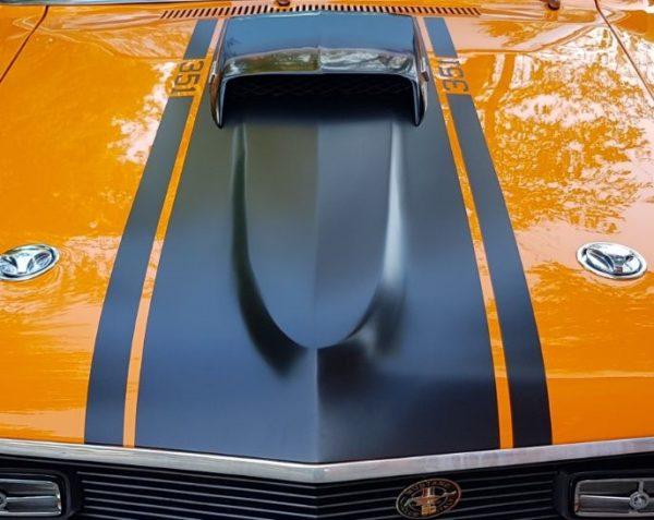 2018 Dodge Barracuda >> 1970 Mach One Dearborn Hood Paint Stencil Kit - Stencils ...
