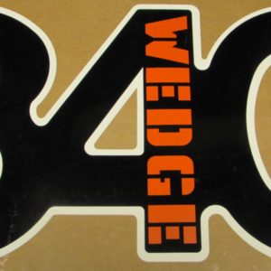 340 Wedge Duster hood decal