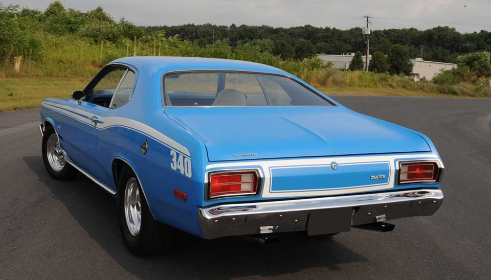 1973 74 Plymouth Duster 340 Body Side Stripe Kit Stencils And Stripes Unlimited Inc