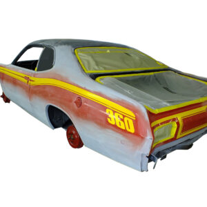 1973 1974 Plymouth Duster 340 side stripe decal kit vinyl