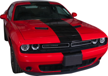 2015-18 Dodge Challenger Racing Stripe Kit