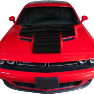 2015-18 Dodge Challenger Hood Stripe with Accent Line
