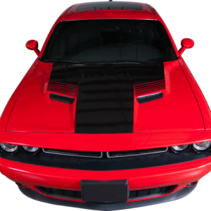 2015-18 Dodge Challenger Hood Stripe with Strobe Accent