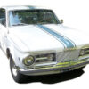 1965 Barracuda Hood, Roof, Trunk stripe kit