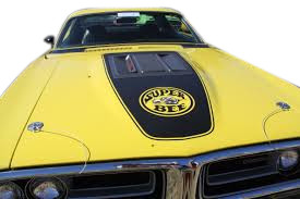 1971 Dodge Super Bee hood decal