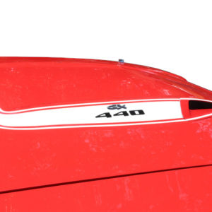 QG-609+ 1973-74 PLYMOUTH ROAD RUNNER - HOOD BULGE STRIPE